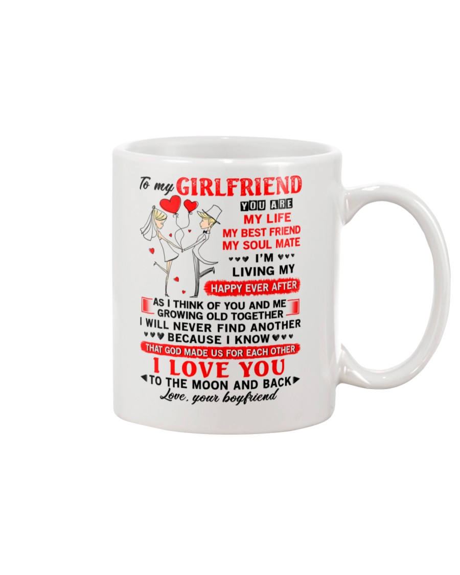 God Made Us Girlfriend Mug