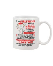 God Made Us Girlfriend Mug front