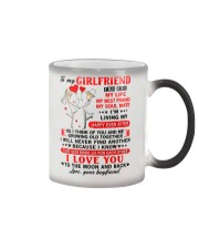 God Made Us Girlfriend Color Changing Mug thumbnail