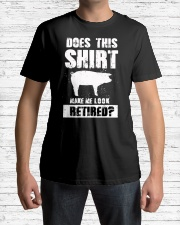 Look Retired Pig Classic T-Shirt lifestyle-mens-crewneck-front-1