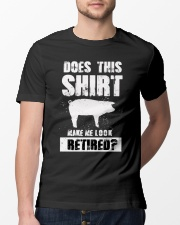 Look Retired Pig Classic T-Shirt lifestyle-mens-crewneck-front-13
