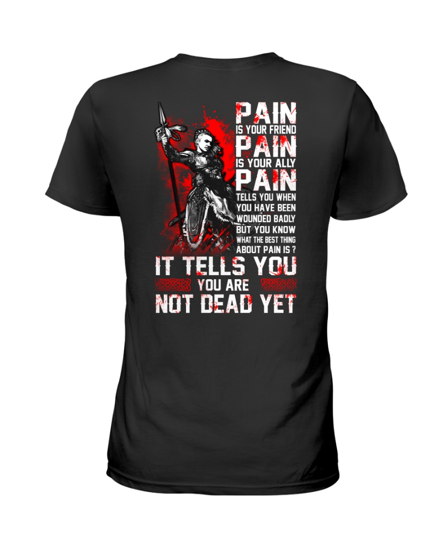 Vikings Pain Women Shirt Ladies T-Shirt
