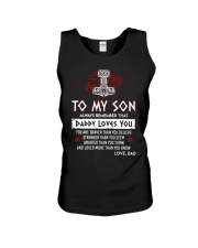 Viking Daddy Loves You Son Dad Unisex Tank thumbnail
