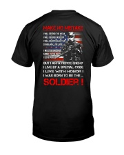 Soldier Shirt: Make No Mistake Classic T-Shirt thumbnail
