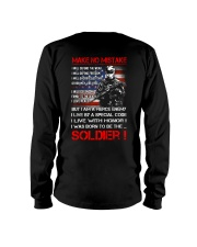 Soldier Shirt: Make No Mistake Long Sleeve Tee thumbnail