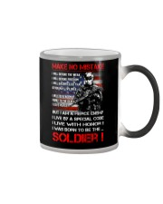 Soldier Shirt: Make No Mistake Color Changing Mug thumbnail