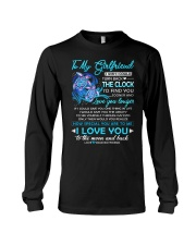 Turtle Girlfriend Clock Ability Moon Long Sleeve Tee thumbnail