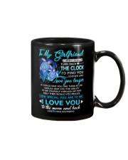 Turtle Girlfriend Clock Ability Moon Mug front