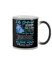 Turtle Girlfriend Clock Ability Moon Color Changing Mug thumbnail