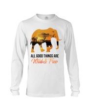 Elephant All Good Things Are Wild Long Sleeve Tee thumbnail