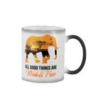 Elephant All Good Things Are Wild Color Changing Mug thumbnail