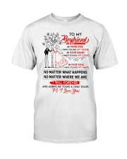 Family Boyfriend In Your Eyes I Have Found My Home Classic T-Shirt thumbnail