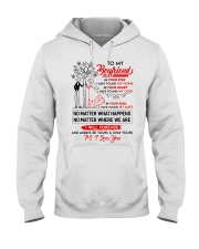Family Boyfriend In Your Eyes I Have Found My Home Hooded Sweatshirt thumbnail