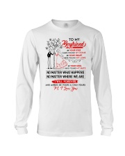 Family Boyfriend In Your Eyes I Have Found My Home Long Sleeve Tee thumbnail