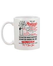 Family Boyfriend In Your Eyes I Have Found My Home Mug back