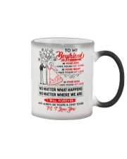 Family Boyfriend In Your Eyes I Have Found My Home Color Changing Mug thumbnail