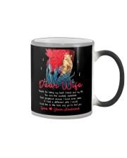 Dear Coolest Sweetest Wife Mug Color Changing Mug thumbnail