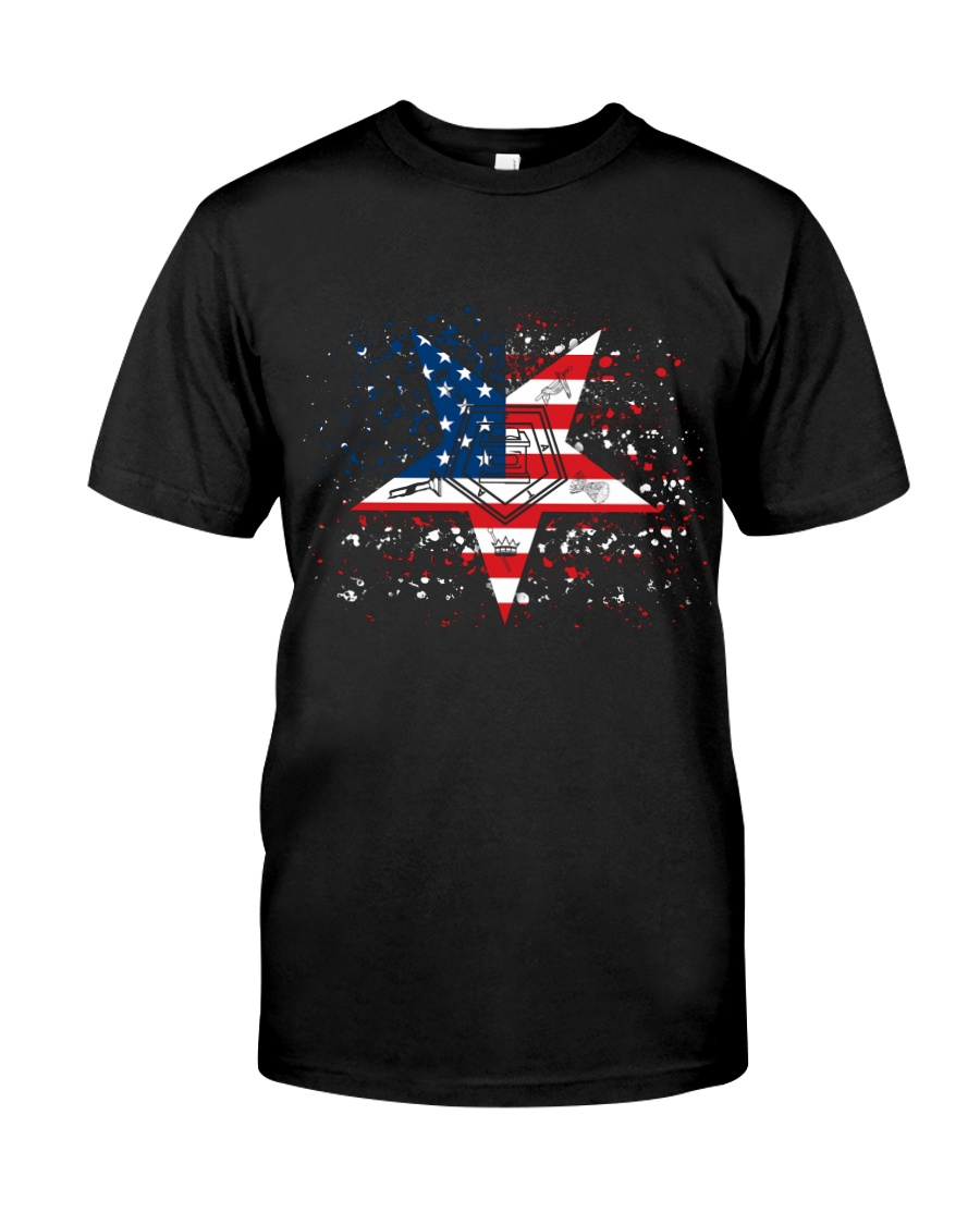 Freemason OES Happy Independence Day Classic T-Shirt