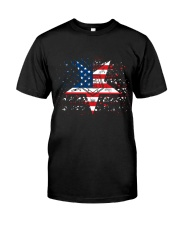 Freemason OES Happy Independence Day Classic T-Shirt front