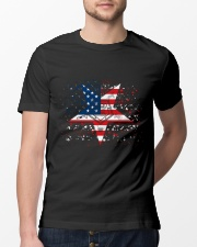 Freemason OES Happy Independence Day Classic T-Shirt lifestyle-mens-crewneck-front-13