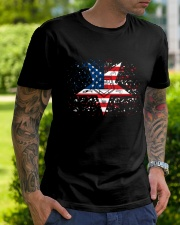Freemason OES Happy Independence Day Classic T-Shirt lifestyle-mens-crewneck-front-7