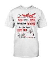 Family Husband Destiny Clock Moon Classic T-Shirt thumbnail