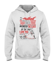 Family Husband Destiny Clock Moon Hooded Sweatshirt thumbnail