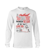 Family Husband Destiny Clock Moon Long Sleeve Tee thumbnail