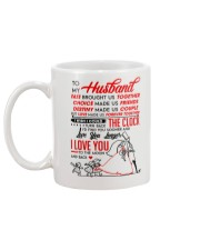 Family Husband Destiny Clock Moon Mug back