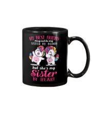 Unicorn Sister By Heart Mug thumbnail
