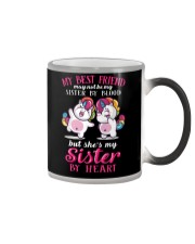 Unicorn Sister By Heart Color Changing Mug thumbnail