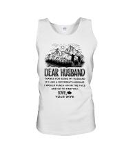 Hiking Dear Husband Unisex Tank thumbnail