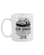 Hiking Dear Husband Mug back