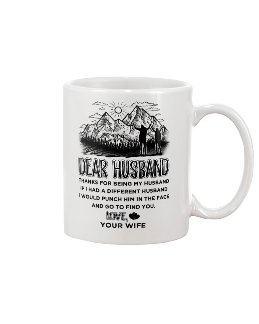 Hiking Dear Husband Mug