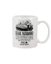 Hiking Dear Husband Mug front