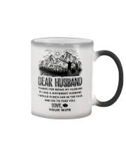Hiking Dear Husband Color Changing Mug thumbnail