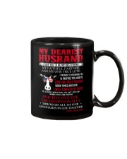 Faithful Partner True Love Husband Cow  Mug front