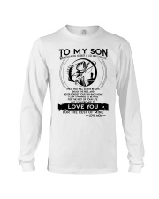 Fishing Son Mom Love You For The Rest Of Mine Long Sleeve Tee thumbnail