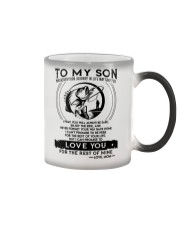 Fishing Son Mom Love You For The Rest Of Mine Color Changing Mug thumbnail
