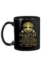 Viking Courage Daughter Mug back