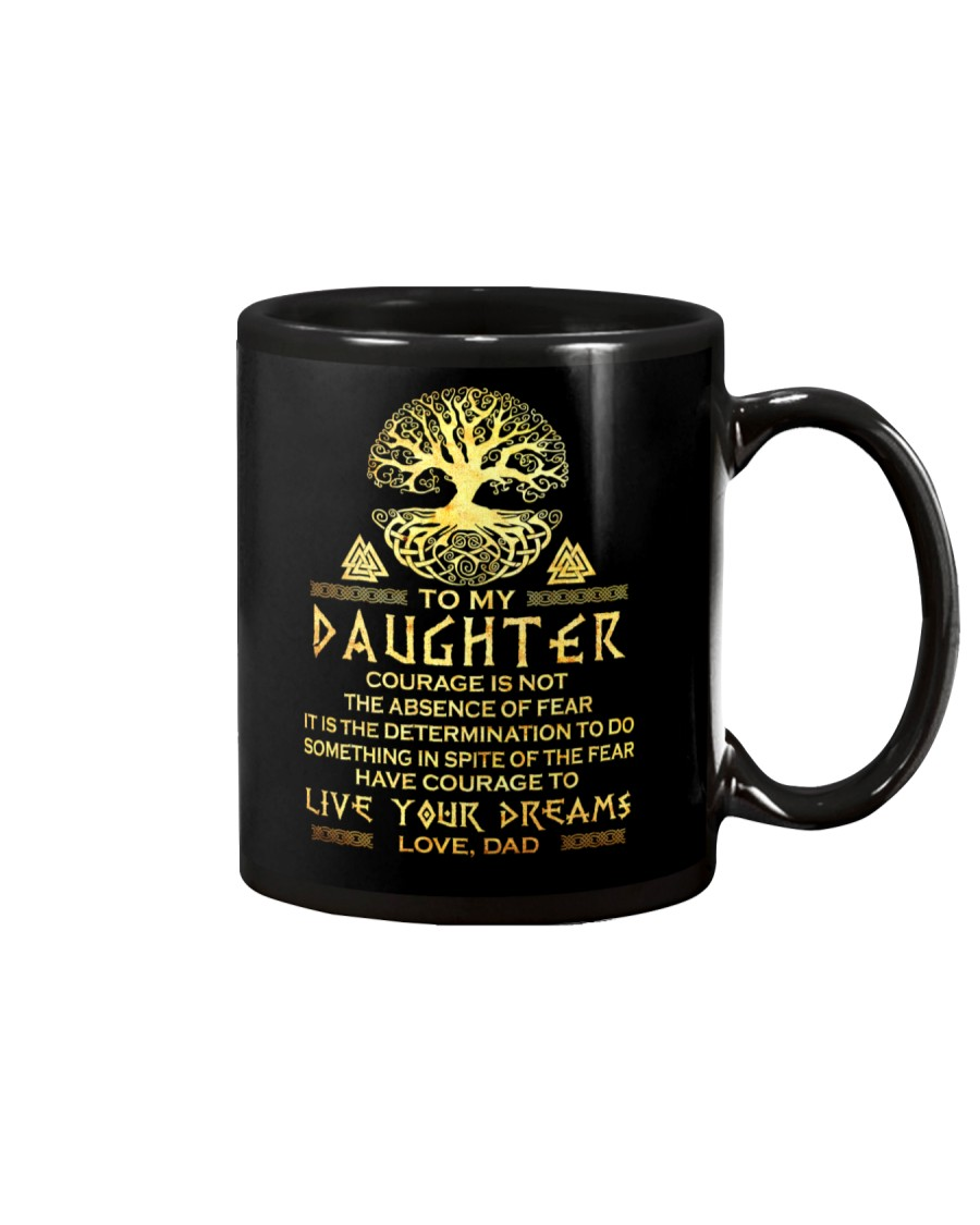 Viking Courage Daughter Mug