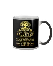 Viking Courage Daughter Color Changing Mug thumbnail