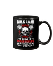 Mechanic Shirt: Walk Away I Have Anger Issues Mug thumbnail