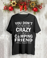 Camping friend  Classic T-Shirt lifestyle-holiday-crewneck-front-2
