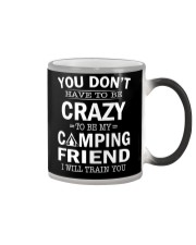 Camping friend  Color Changing Mug thumbnail