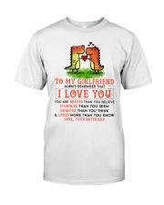 Dinosaur Girlfriend I Love You Classic T-Shirt thumbnail