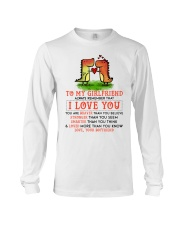 Dinosaur Girlfriend I Love You Long Sleeve Tee tile
