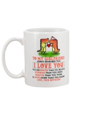 Dinosaur Girlfriend I Love You Mug back