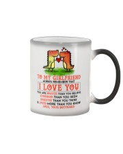 Dinosaur Girlfriend I Love You Color Changing Mug thumbnail
