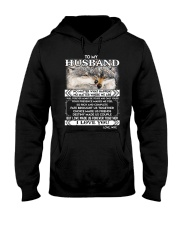 Wolf Husband Love Made Us Forever Together  Hooded Sweatshirt thumbnail